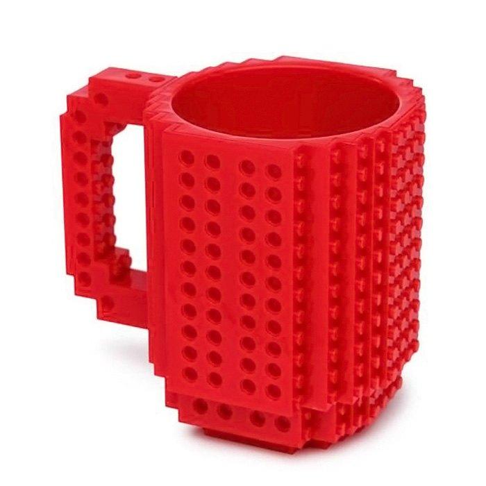 Creative DIY Blocks Unique Mug Coffee Cup 2589