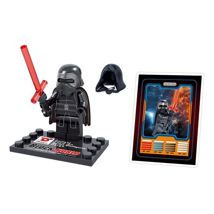 Dargo 867F The Force Awakens Mini Figure Collection DIY Block Toy