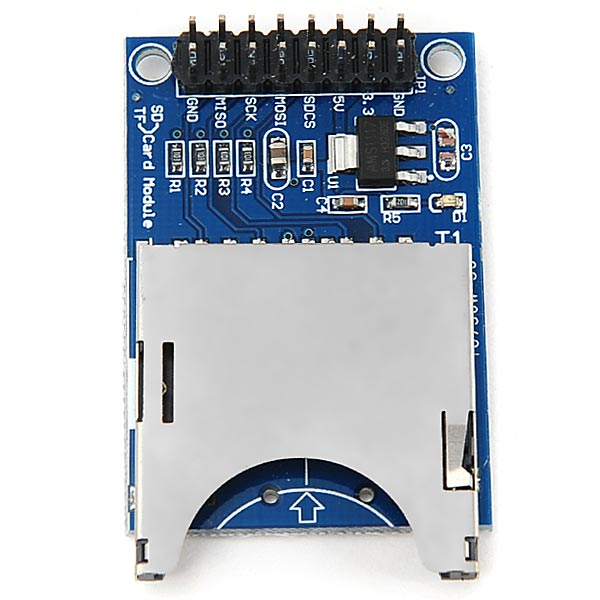 SD Card Module Socket Reader for Arduino Read & Write - Blue