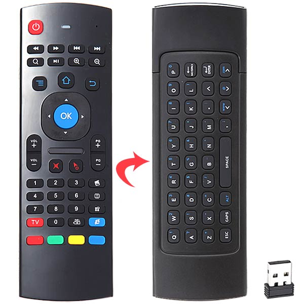 MX3 2.4Ghz Mini Keyboard Air Mouse w/ 6 Axis Gyro f TV BOX