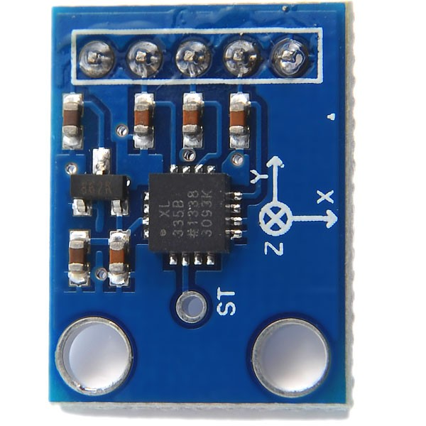 GY-61 ADXL335 Triple Axis Accelerometer / Analog Sensor - Blue
