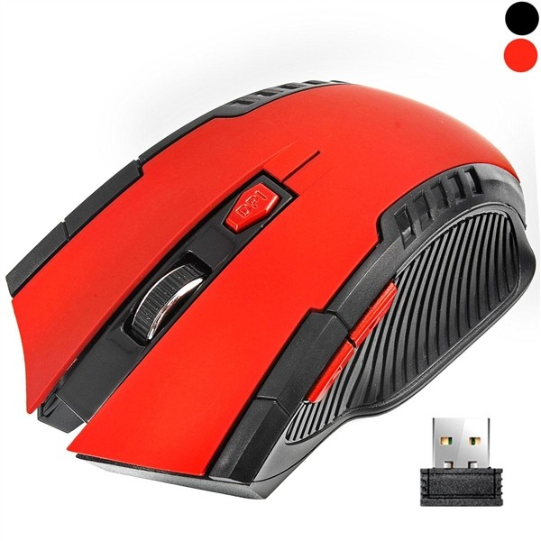 2.4GHz Wireless Optical Gaming Mouse for PC DPI Adjustable