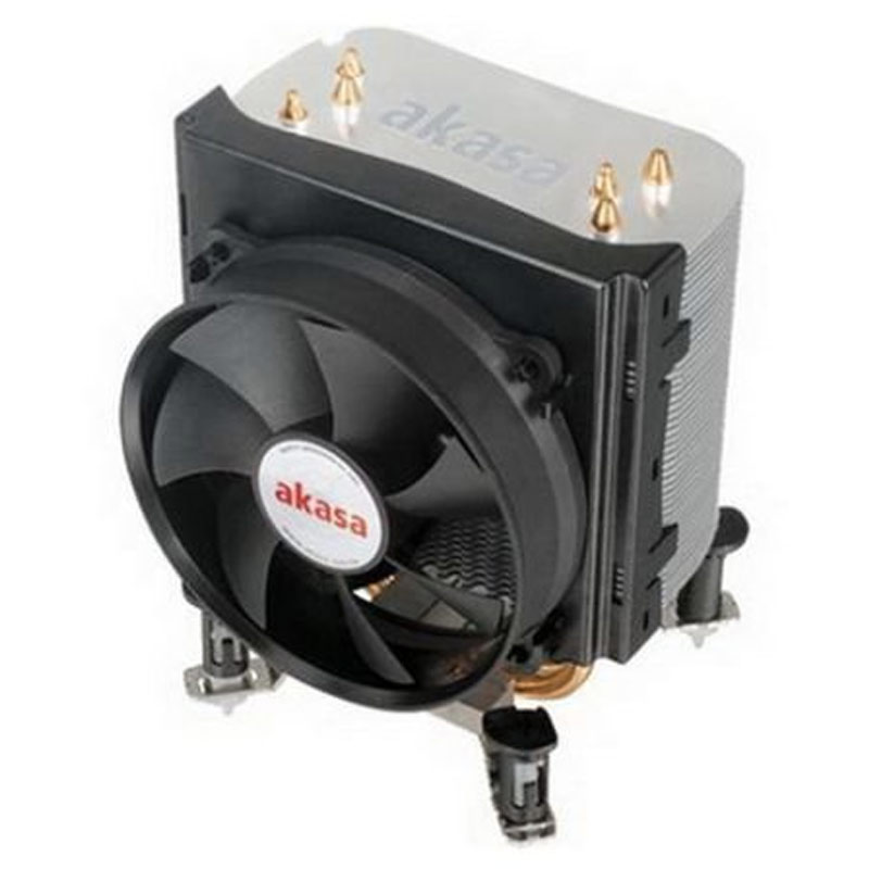 Akasa X4 Universal Socket 92mm PWM 2500rpm Low Noise Fan CPU Cooler